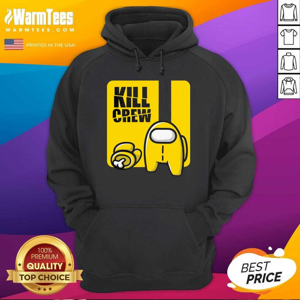 Among Us Kill Crew Hoodie  - Design By Warmtees.com
