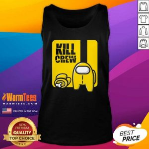 Among Us Kill Crew Tank Top - Design By Warmtees.com