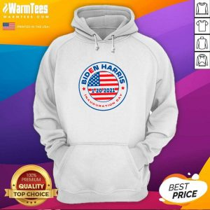 Biden Harris 1 20 2021 Inauguration Day American Flag Hoodie - Design By Warmtees.com
