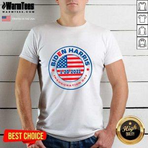 Biden Harris 1 20 2021 Inauguration Day American Flag Shirt - Design By Warmtees.com