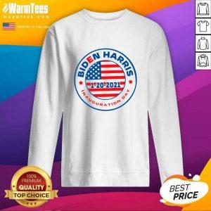 Biden Harris 1 20 2021 Inauguration Day American Flag SweatShirt - Design By Warmtees.com