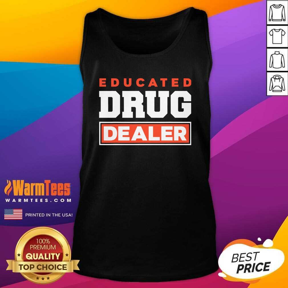 Educated Drug Dealer Best Pharmacy Pharmacist V-neck  - Design By Warmtees.com