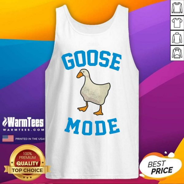 Goose Mode Duck Tank Top - Design By Warmtees.com