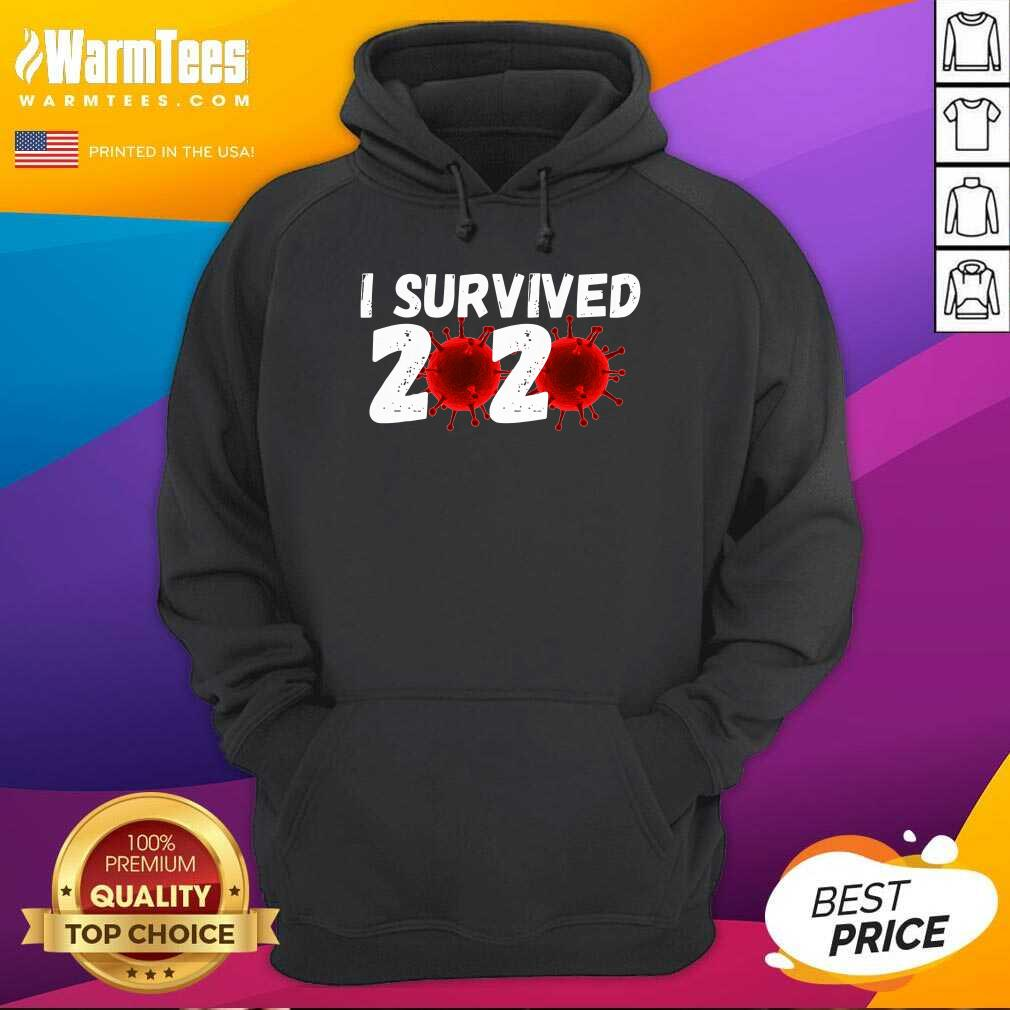 I Survived 2020 Coronavirus Hoodie  - Design By Warmtees.com