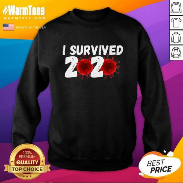 I Survived 2020 Coronavirus SweatShirt - Design By Warmtees.com
