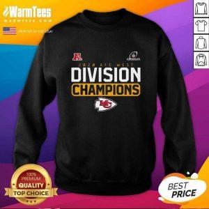 Kansas City Chiefs Division Champions Playoffs SweatShirt - Design By Warmtees.com