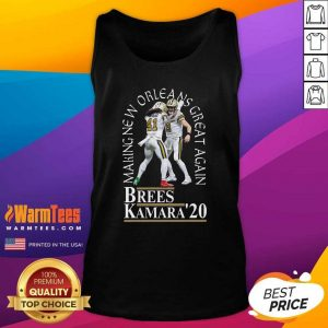 Making New Orleans Great Again Brees Kamara 2020 Tank Top - Design By Warmtees.com