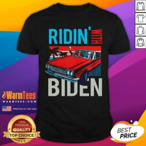 Riding With Biden Kamala Harris Joe Biden Vintage Retro Car Shirt - Design By Warmtees.com
