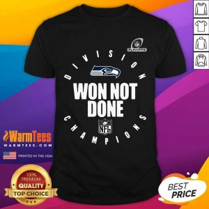Seattle Seahawks Champions 2020 Won Not Done Shirt - Design By Warmtees.com