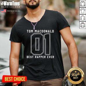 Tom MacDonald Best Rapper Ever V-neck - Design By Warmtees.com