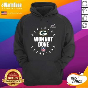 Bay Packers Champions 2020 Won Not Done Hoodie - Design By Warmtees.com
