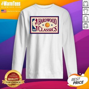 Bella Hadid Hardwood Classics Nba SweatShirt - Design By Warmtees.com