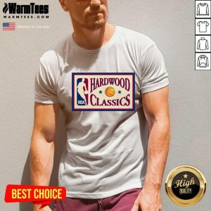 Bella Hadid Hardwood Classics Nba V-neck - Design By Warmtees.com