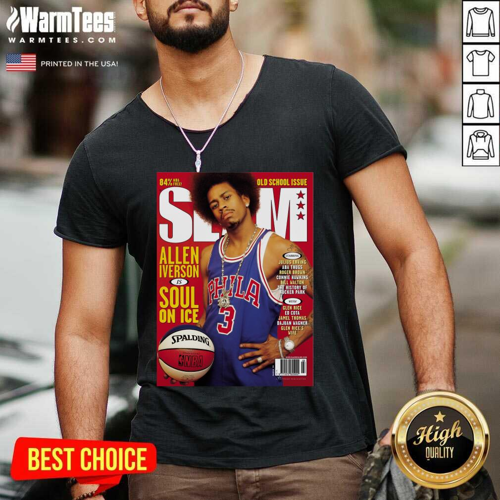 Best Slam Magazine Covers V-neck  - Design By Warmtees.com