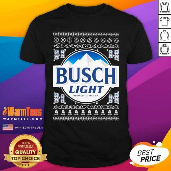 Busch Light 2020 Ugly Christmas Shirt - Design By Warmtees.com