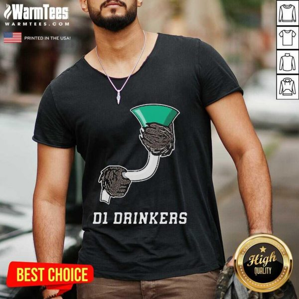 D1 Drinkers 2020 V-neck - Design By Warmtees.com