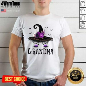 Grandma Witch Hat Halloween Shirt - Design By Warmtees.com