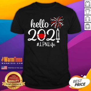 Hello 2021 LPN Life Face Mask Christmas Shirt - Design By Warmtees.com