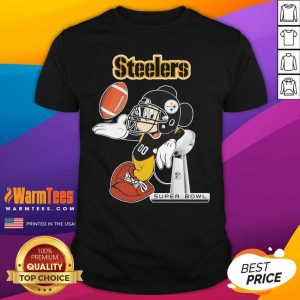 Mickey Mouse Pittsburgh Steelers Super Bowl Shirt - Design By Warmtees.com