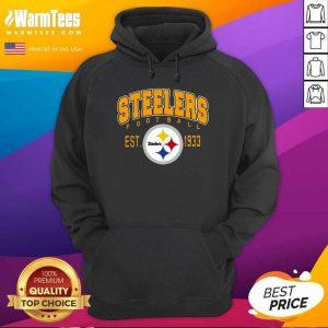 Pittsburgh Steelers Football Est 1933 Hoodie - Design By Warmtees.com