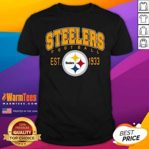 Pittsburgh Steelers Football Est 1933 Shirt - Design By Warmtees.com