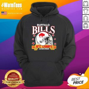 Buffalo Bills Afc Champions 2020 Eastern Division Hoodie - Design By Warmtees.com