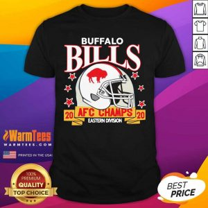 Buffalo Bills Afc Champions 2020 Eastern Division Shirt - Design By Warmtees.com