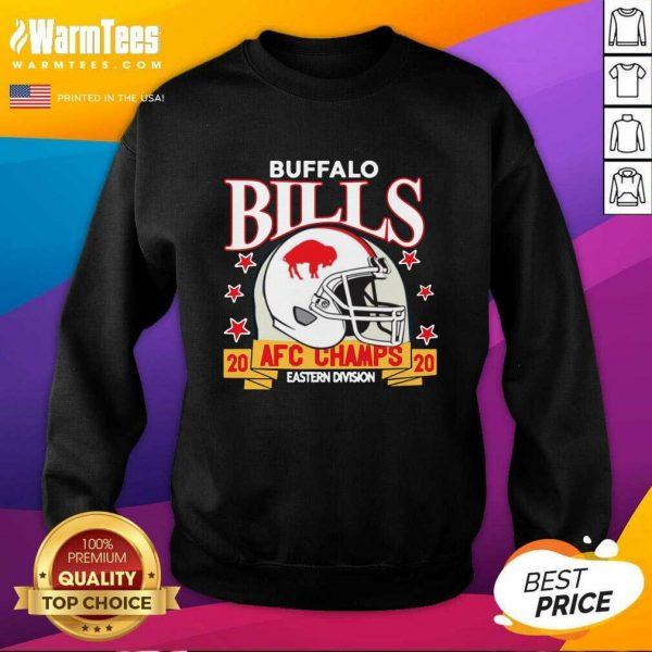 Buffalo Bills Afc Champions 2020 Eastern Division SweatShirt - Design By Warmtees.com
