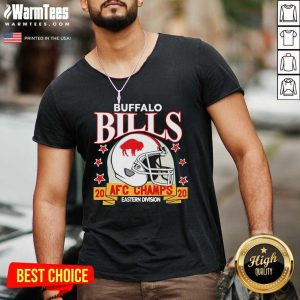 Buffalo Bills Afc Champions 2020 Eastern Division V-neck - Design By Warmtees.com