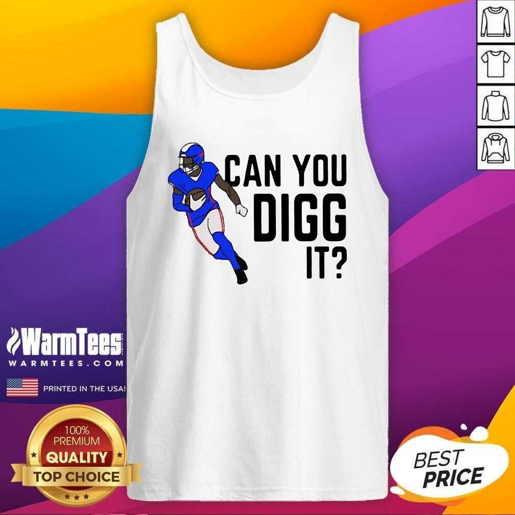 Buffalo Bills Can You Digg It Tank Top  - Design By Warmtees.com