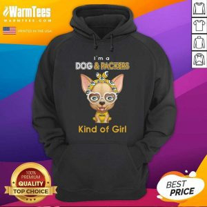 Chihuahua I'm A Dog And Green Bay Packers Kind Of Girl Hoodie - Design By Warmtees.com