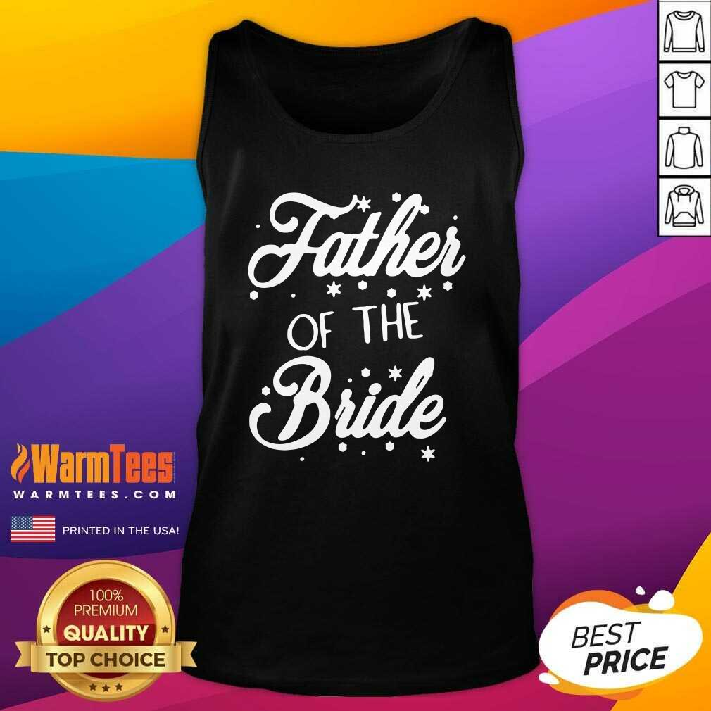 Father Of The Bride Tank Top  - Design By Warmtees.com