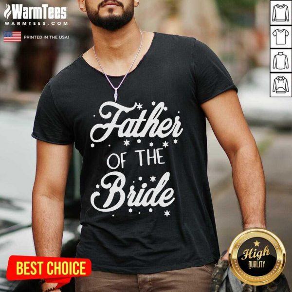 Father Of The Bride V-neck - Design By Warmtees.com