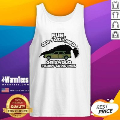 Fun Old Fashioned Griswold Family Christmas Tank Top - Design By Warmtees.com