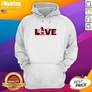 Gnome Love Valentine Hoodie - Design By Warmtees.com