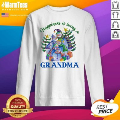 Happiness Is Being A Grandma SweatShirt - Design By Warmtees.com