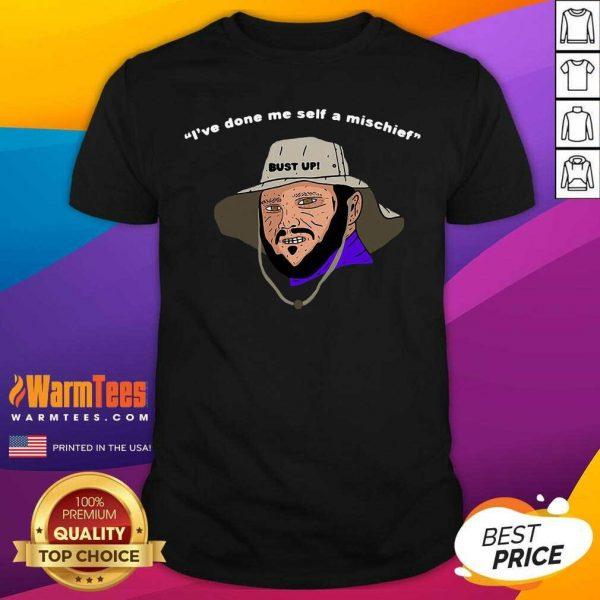I've Done Me Self A Mischief Shirt - Design By Warmtees.com
