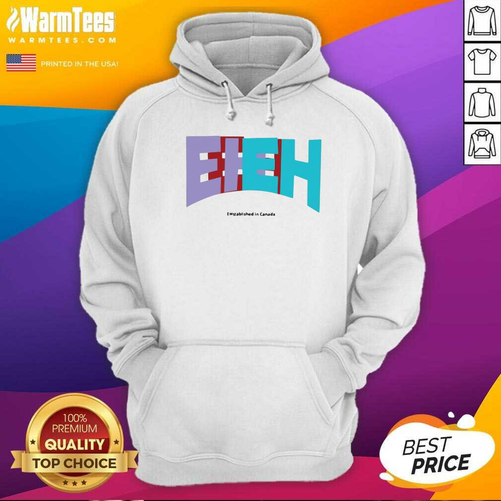 Nickeh30 Merch Ehstablished In Cananda Hoodie  - Design By Warmtees.com