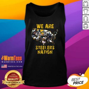 Pittsburgh Steelers We Are Steelers Nation American Map Tank Top - Design By Warmtees.com