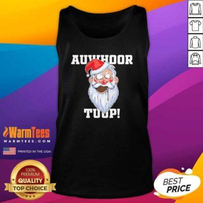 Santa Claus Auwhoor Tuup Christmas Tank Top - Design By Warmtees.com - Design By Warmtees.com