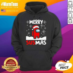 Among Us Merry Sus-mas Christmas Hoodie - Design By Warmtees.com