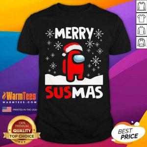 Among Us Merry Sus-mas Christmas Shirt - Design By Warmtees.com