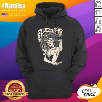 Beautiful Love Your Hair Hoodie - Design By Warmtees.com