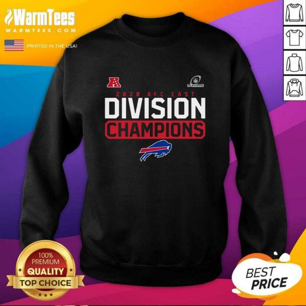 Buffalo Bills 2020 AFC East Division Champions SweatShirt - Design By Warmtees.com
