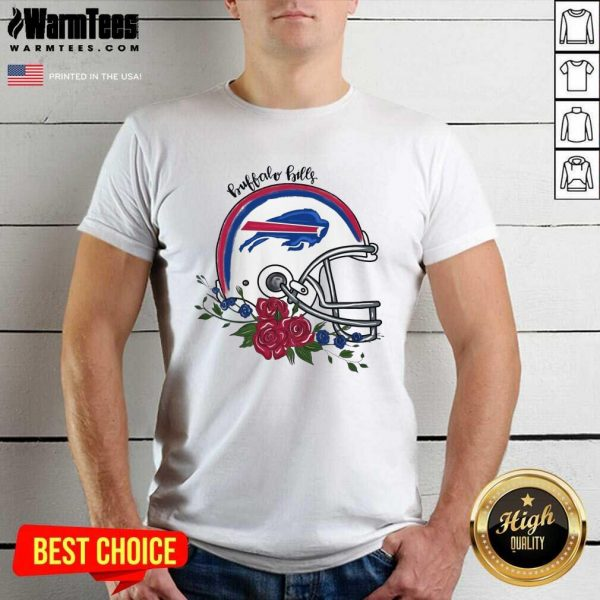 Buffalo Bills Floral Shirt - Design By Warmtees.com