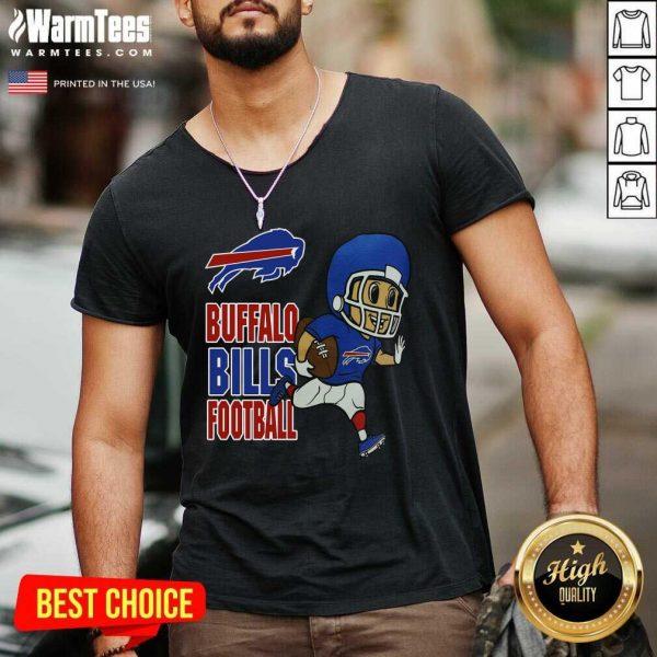 Buffalo Bills Football V-neck - Design By Warmtees.com