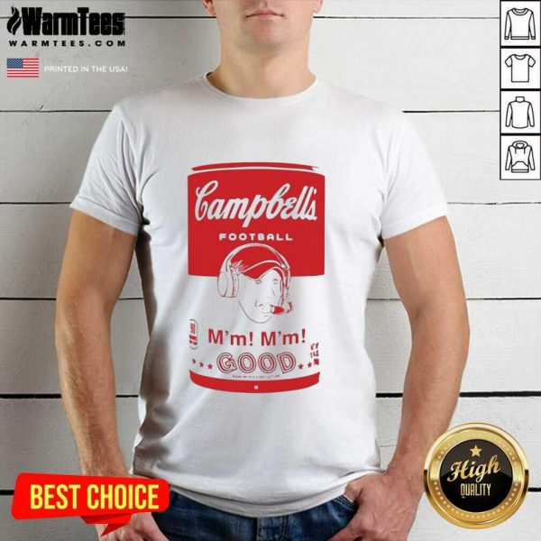 Campbell's Football Soup Can Shirt - Design By Warmtees.com