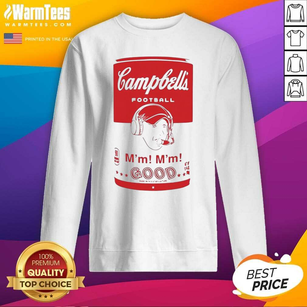 Campbell's Football Soup Can SweatShirt  - Design By Warmtees.com