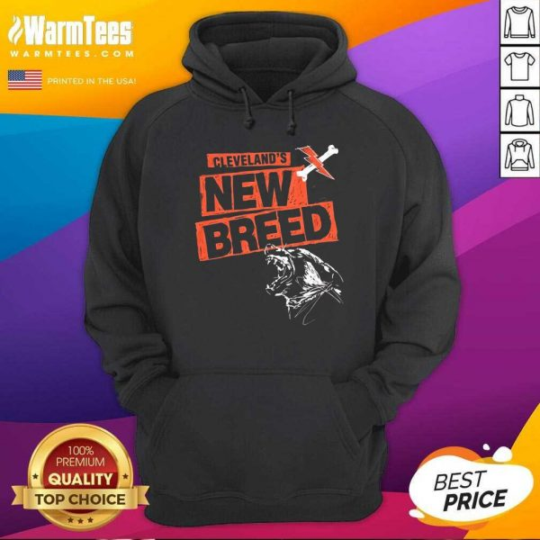 Cleveland Football New Breed Hoodie - Design By Warmtees.com
