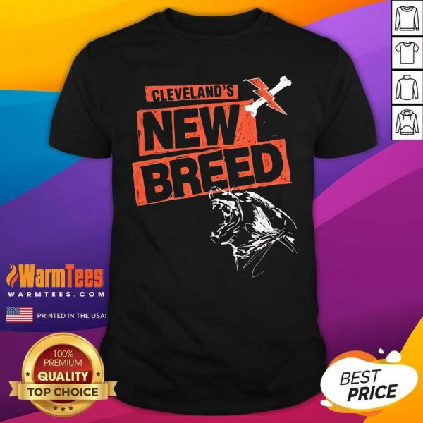 Cleveland Football New Breed Shirt - Design By Warmtees.com